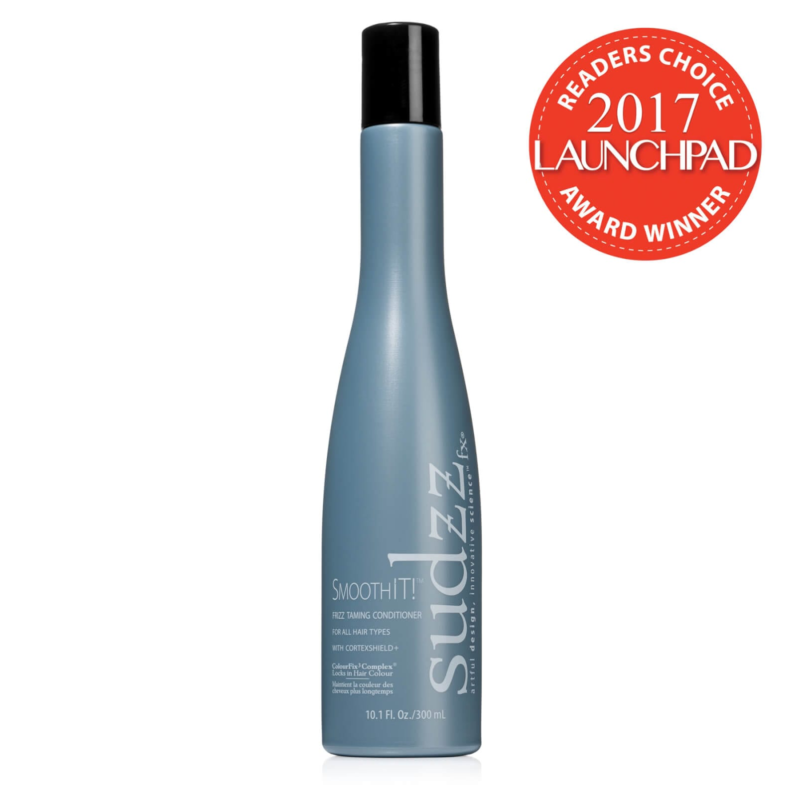 SUDZZfx SmoothIT! Frizz Taming Conditioner - Beauty Launchpad 2017 Reader's Choice Award Winner